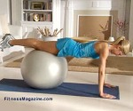 Push-up on Ball